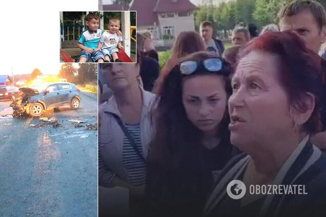 На Прикарпатье вспыхнули протесты из-за кровавого ДТП