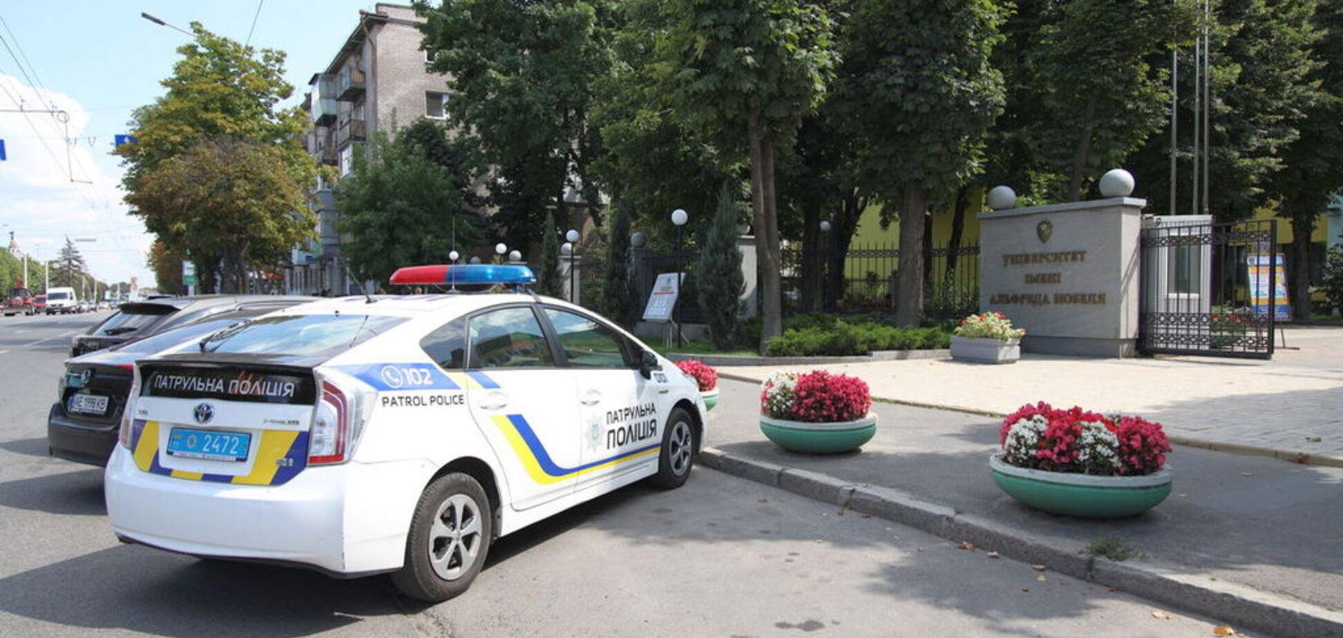 Неизвестный сообщил о минировании 4 вузов в Днепре