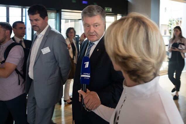 Петро Порошенко у Страсбурзі