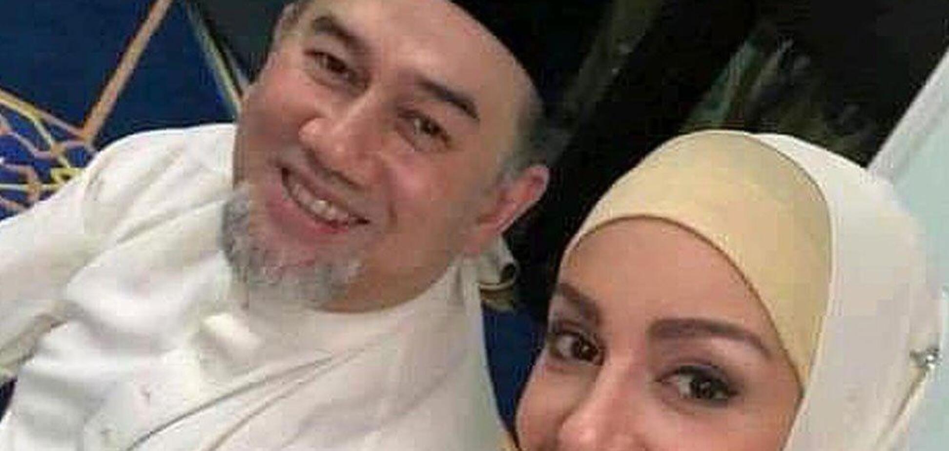 Екскороль Малайзії розлучився із 'Міс Москвою': подробиці