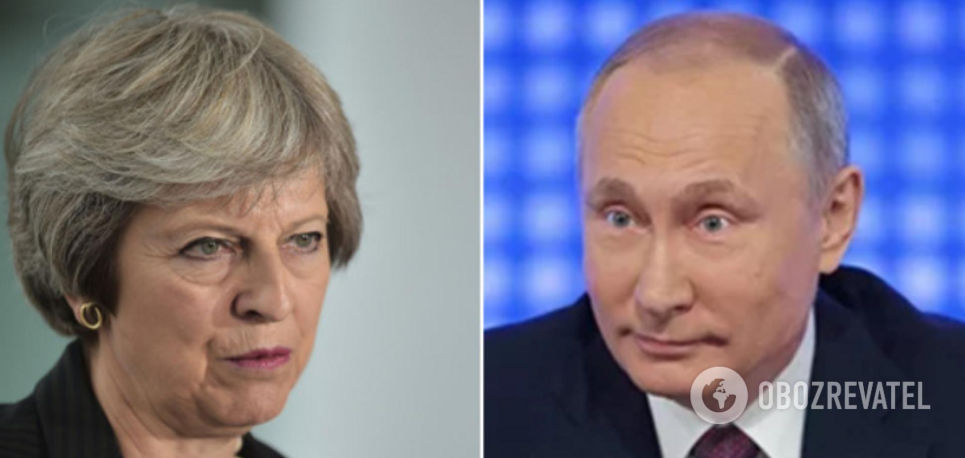 Мэй и Путин