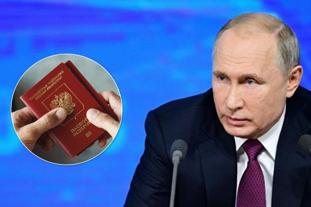 Путін спростив отримання паспортів для всього Донбасу