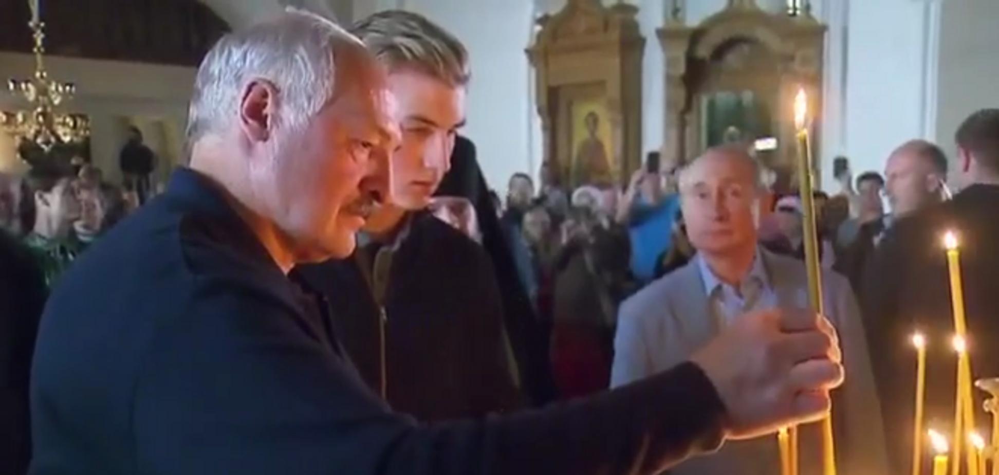 'Создают новый СССР': сеть разозлила 'показушная набожность' Лукашенко и Путина