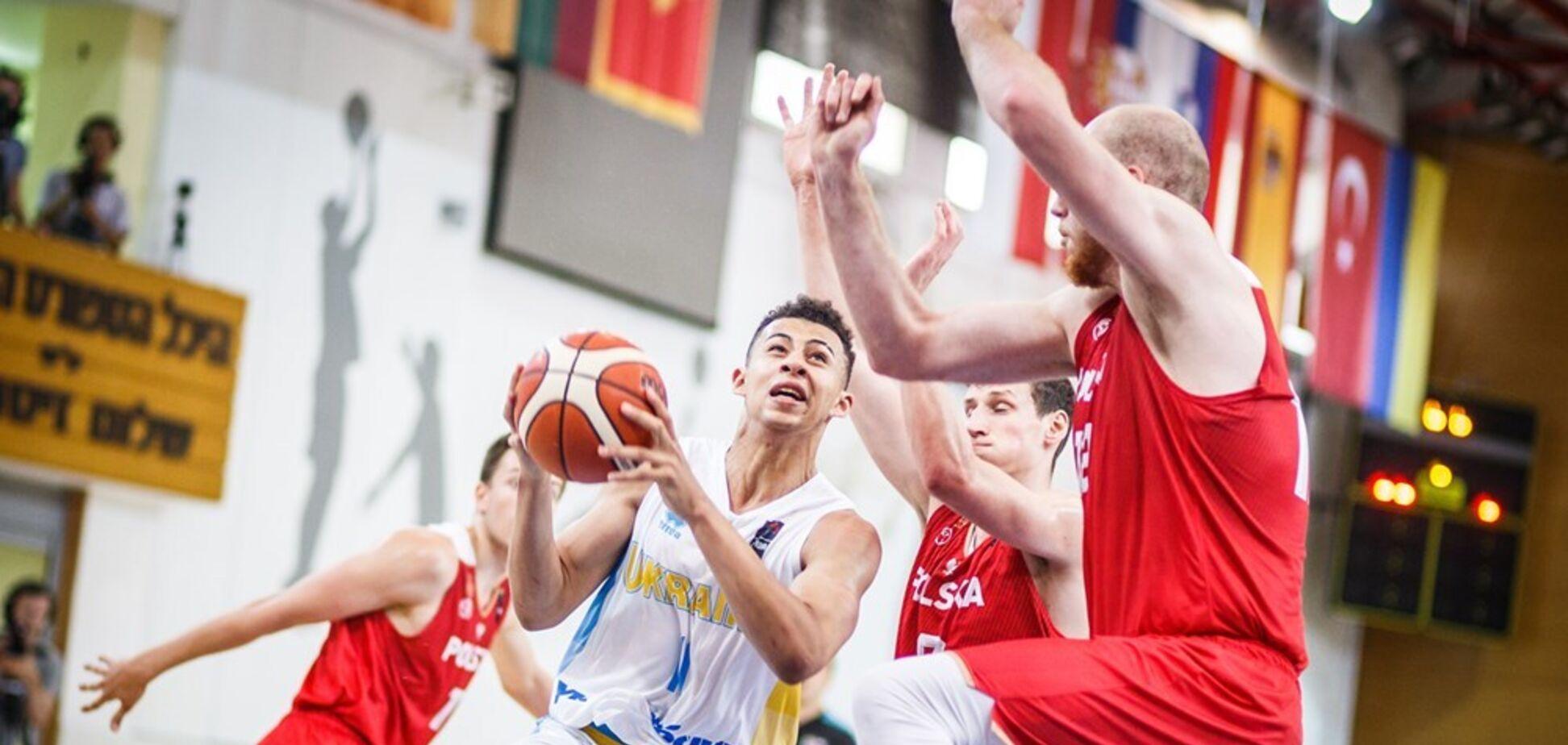 Українці здобули знакову перемогу на Євробаскеті U-20