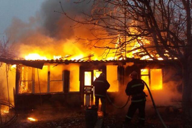 В Кривом Роге произошел пожар