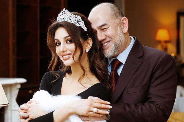 """Стала известна причина развода экс-короля Малайзии и """"Мисс Москвы"""""""