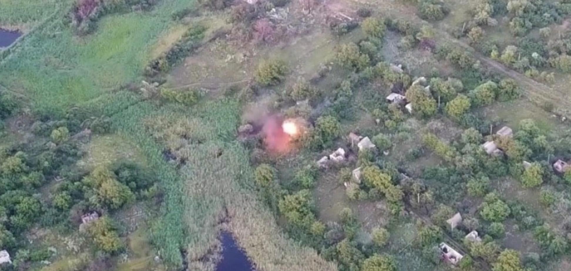 ВСУ зрелищно уничтожили штаб 'Л/ДНР'