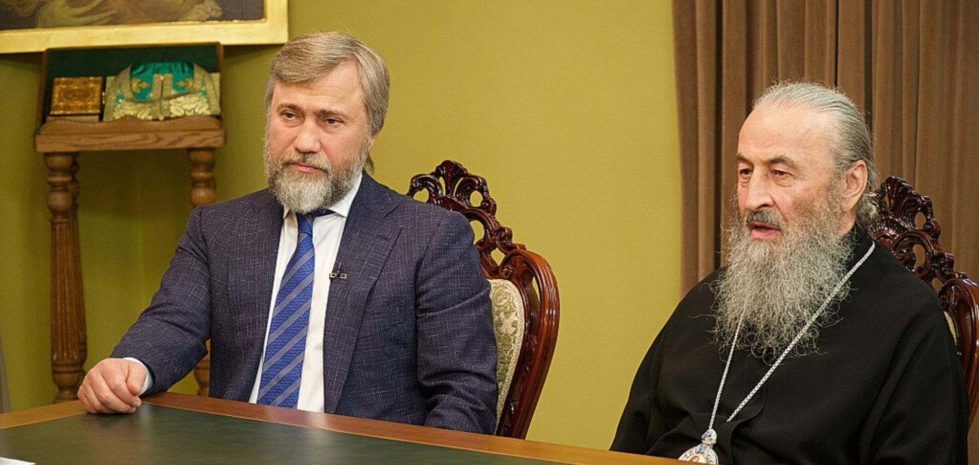 Блаженніший митрополит Онуфрій і Вадим Новинський