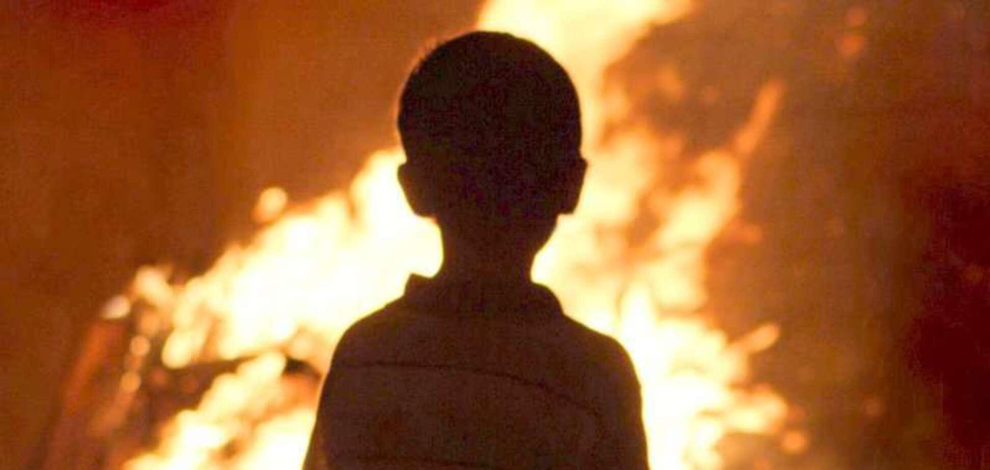 Под Днепром горела дача: погиб ребенок