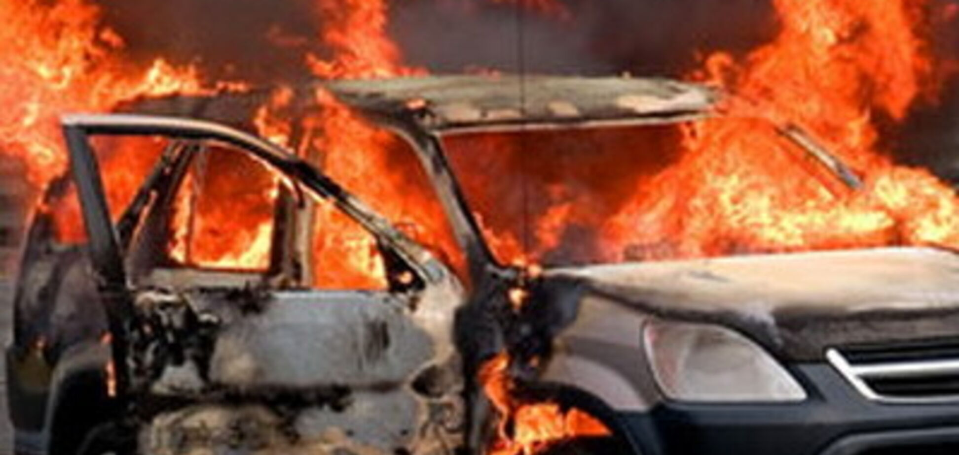 У Рівному згоріло авто з агітацією за кандидата в нардепи