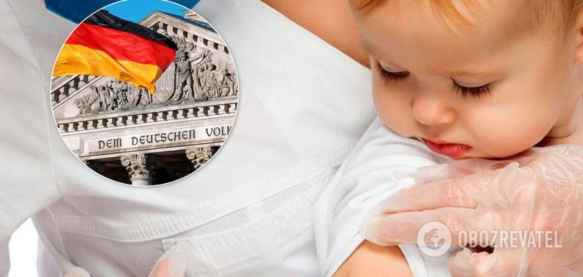 Коли або плати: Німеччина ухвалила закон про обов'язкові щеплення від кору