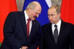 Олександр Лукашенко і Володимир Путін