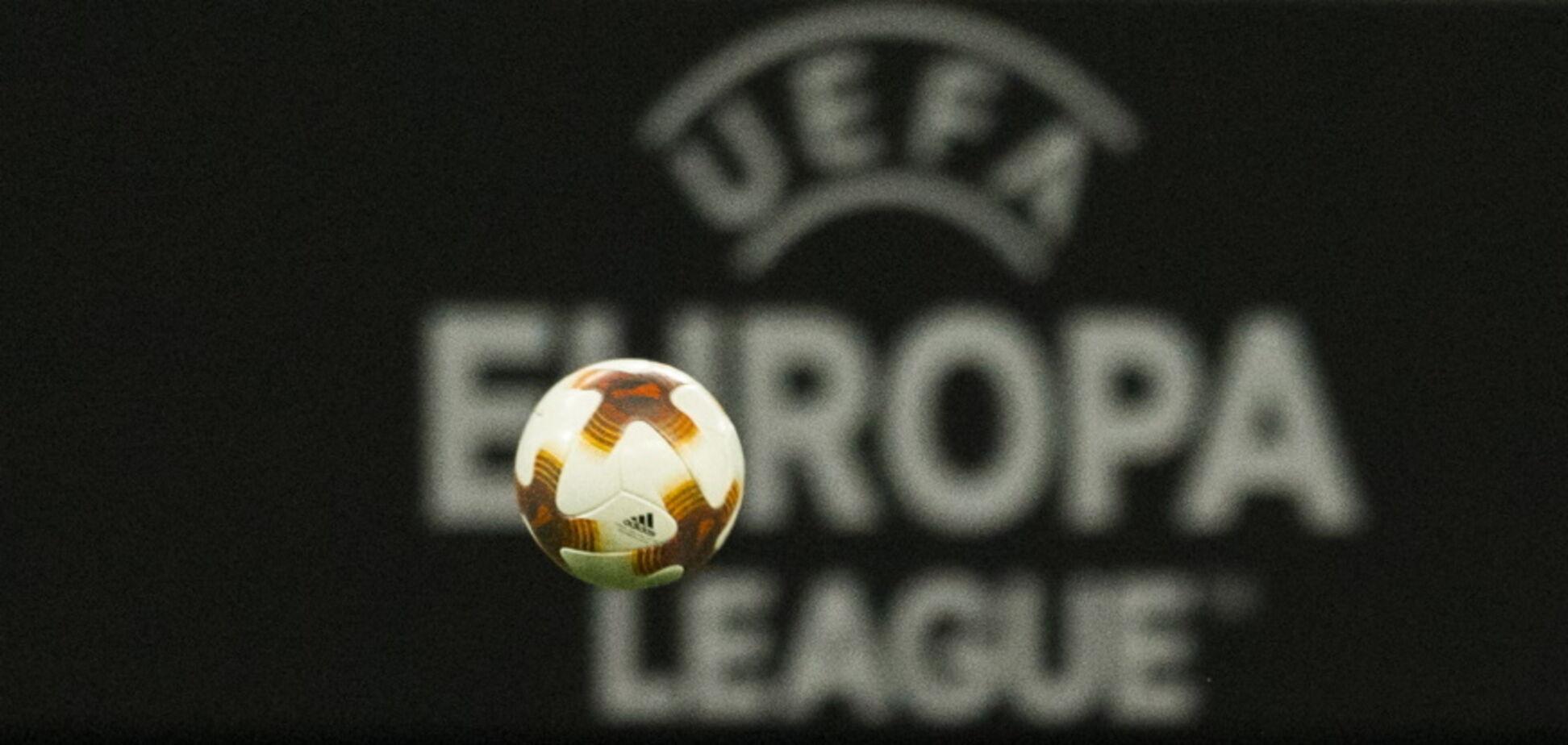 УЕФА выгнал бельгийский клуб из Лиги Европы