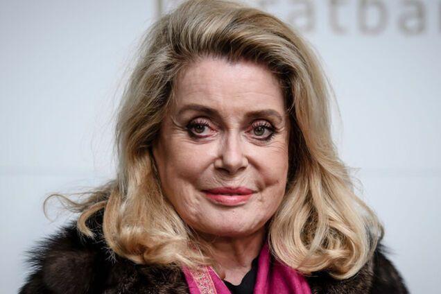 Легендарная французская актриса прилетела в Украину