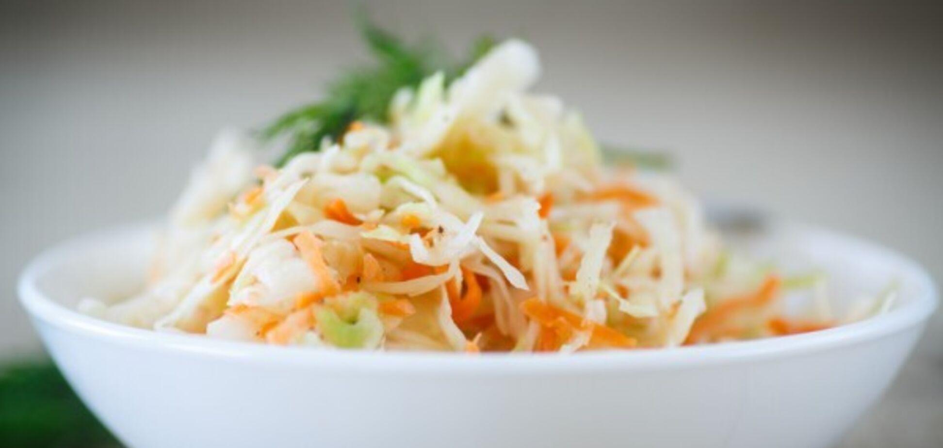 Новий рецепт смачної квашеної капусти на зиму