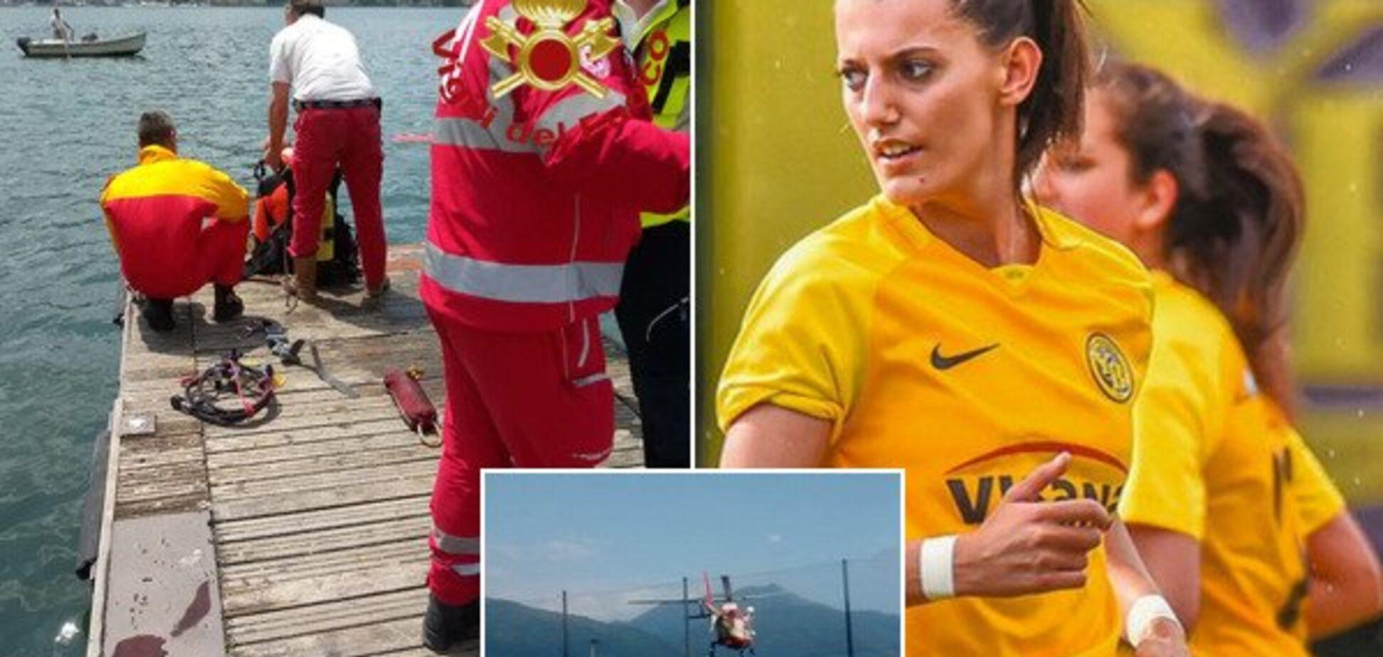 Знайдений труп: відома футболістка вирішила поплавати голяка і потонула