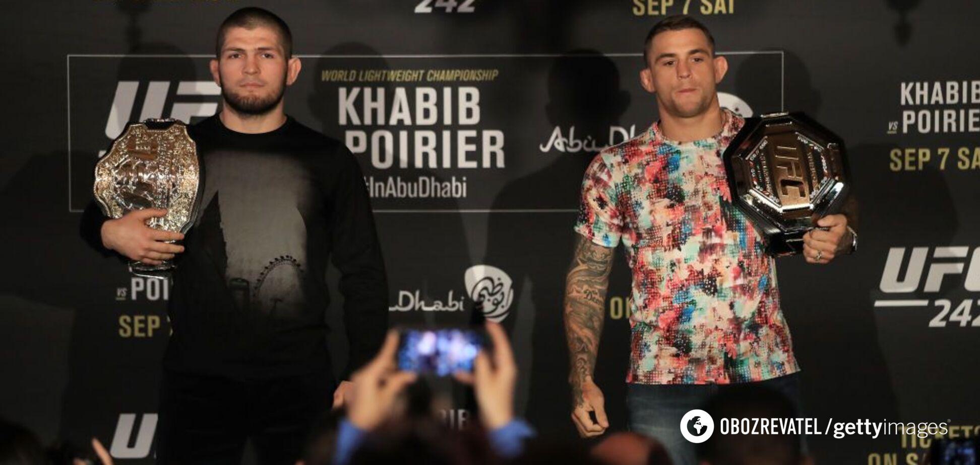 Хабиб – Порье: назван фаворит чемпионского боя UFC