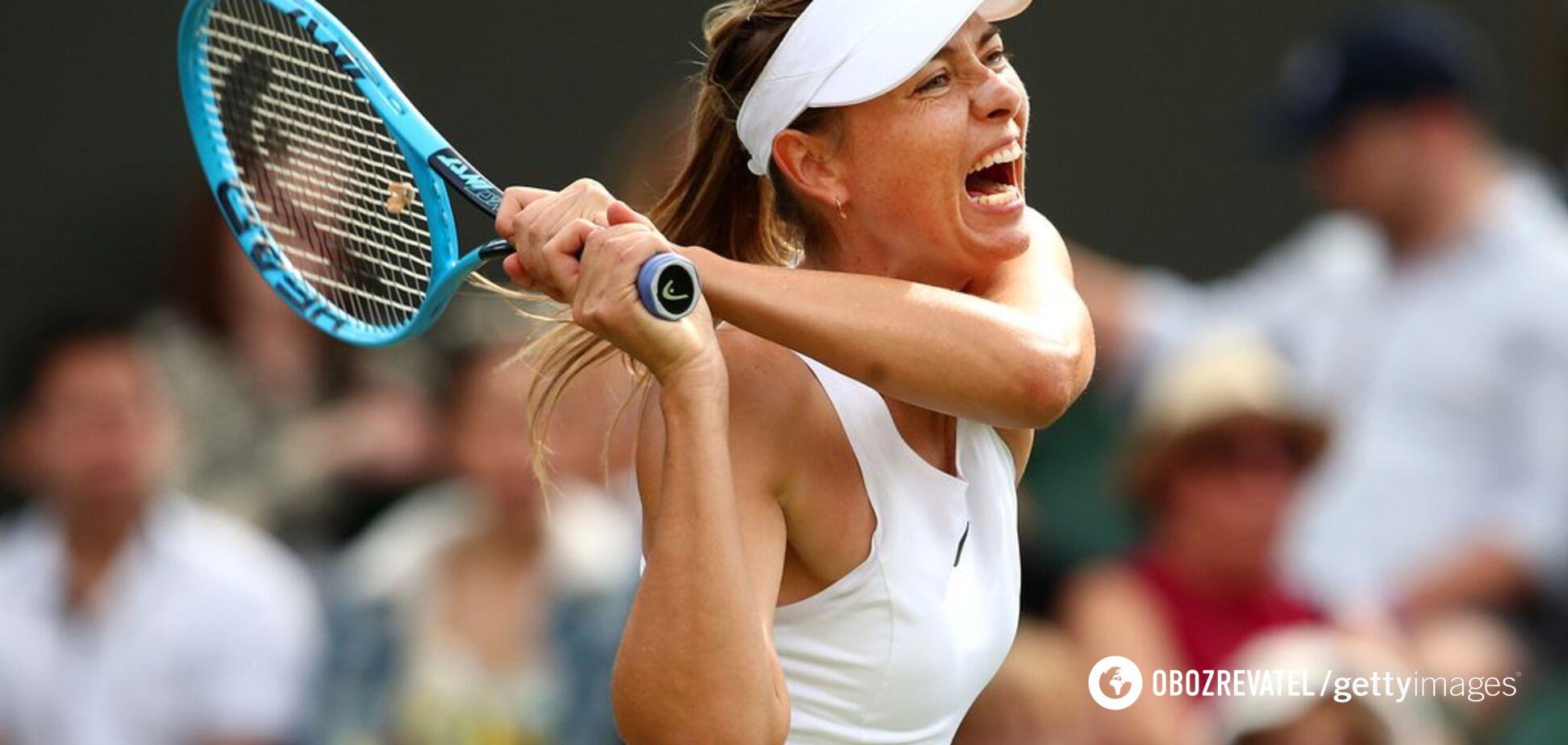Шарапова зганьбилася на Wimbledon