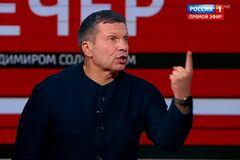 У Соловьева пригрозили разбомбить Донбасс