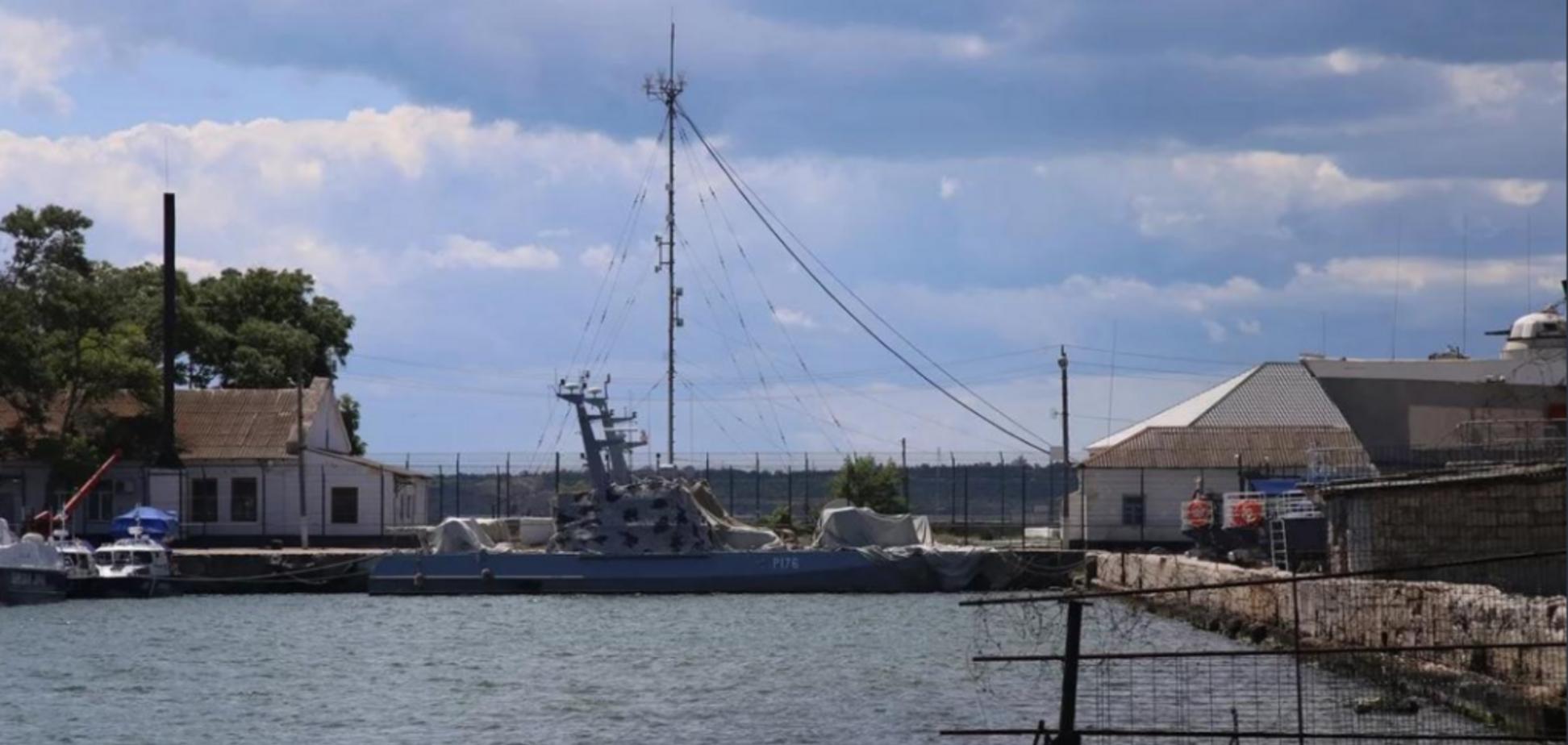 Пропавшие в Крыму украинские катера нашлись. Фото