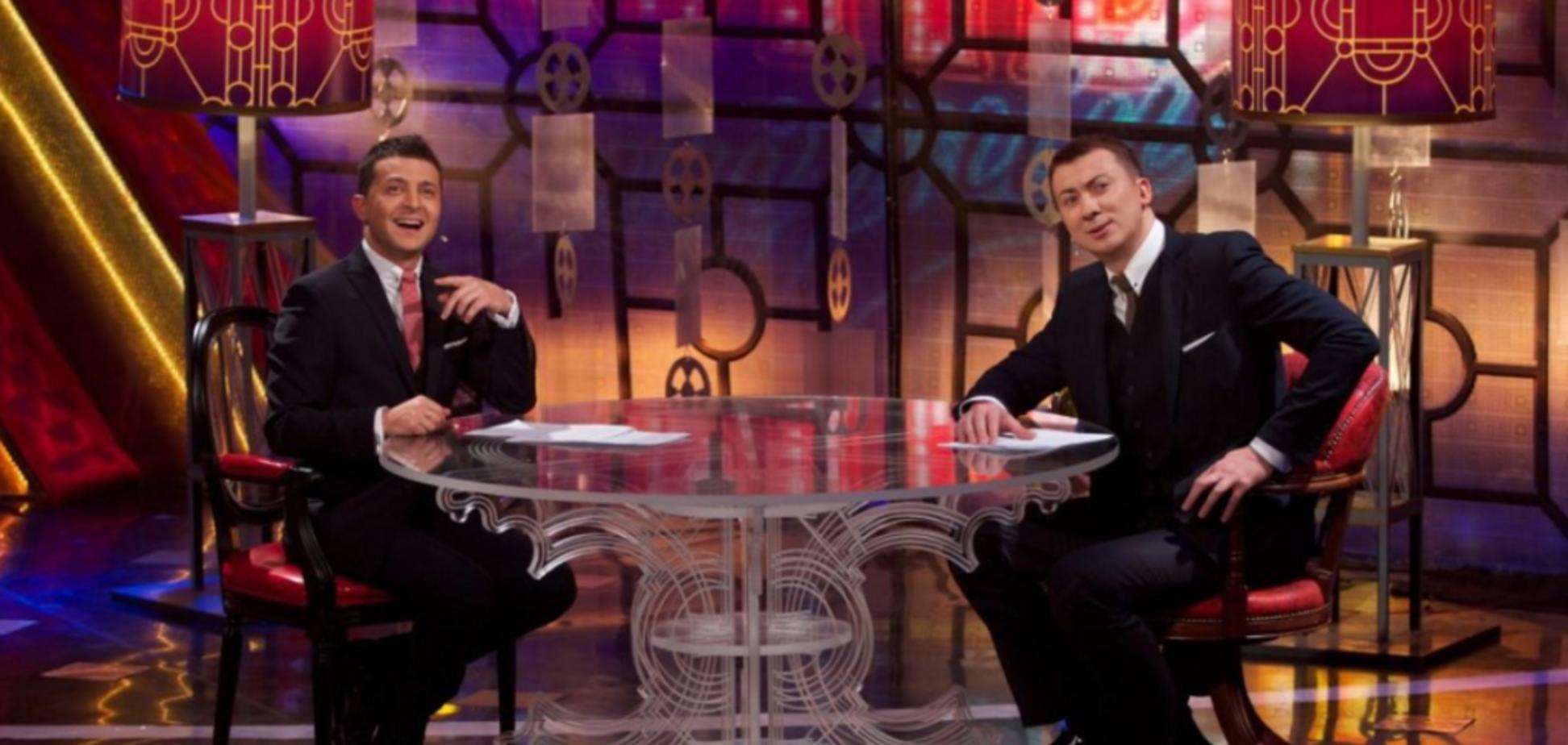 Владимир Зеленский и Валерий Жидков