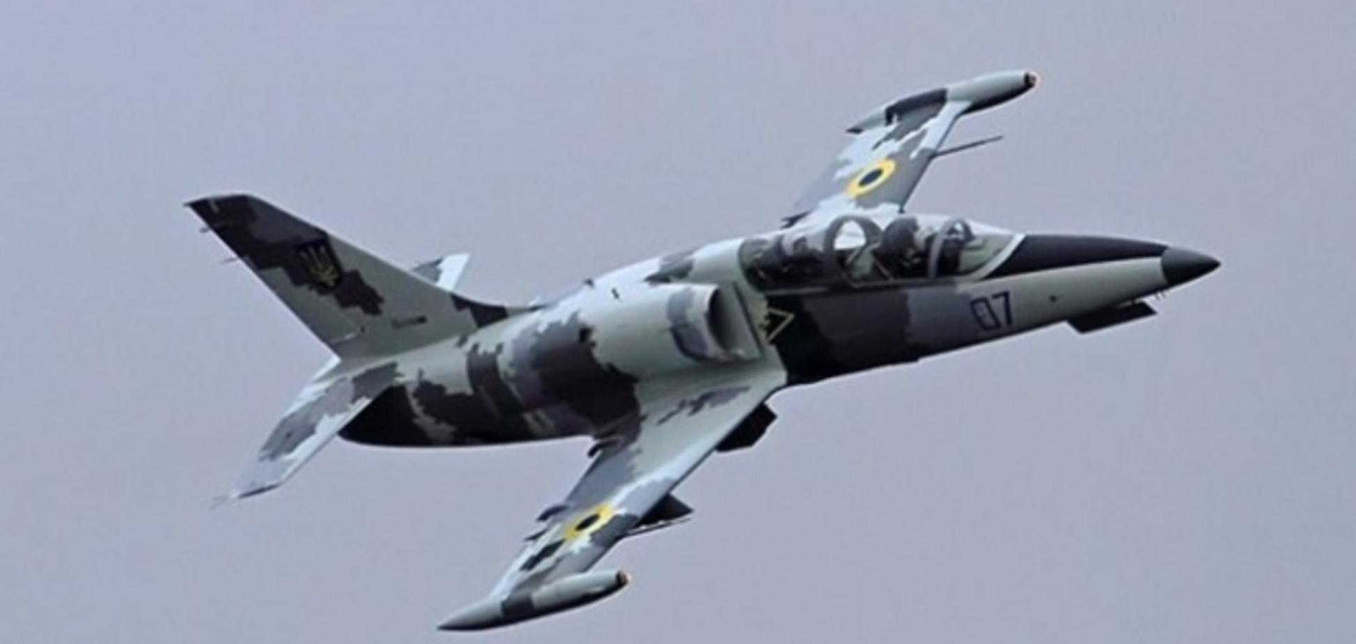 На Харьковщине разбился самолет Л-39