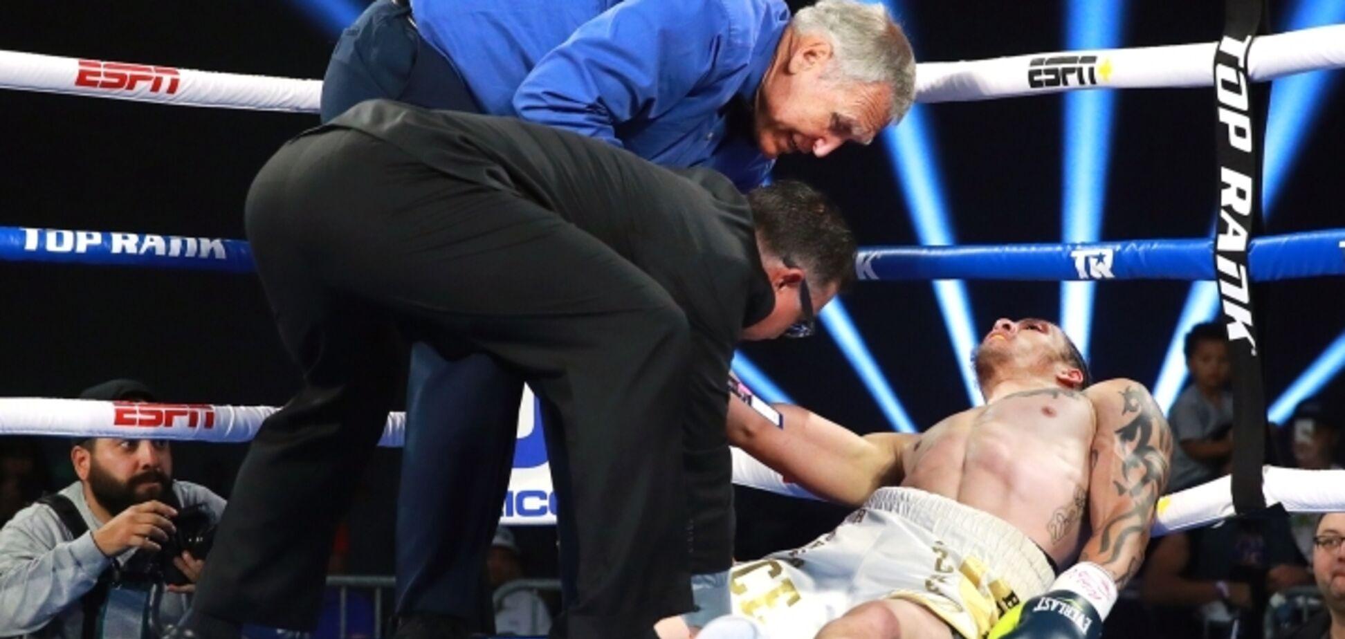 Боксер 'пострілом із базуки' відправив суперника в жахливий нокаут