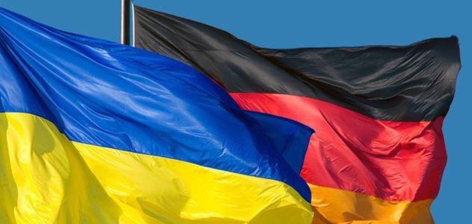 Иллюстрация. Флаги Украины и Германии. Источник: Газета 2000