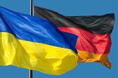 Флаги Украины и Германии