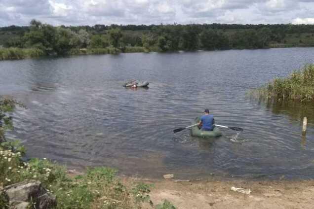 Под Кривым Рогом обнаружена лодка с трупом мужчины