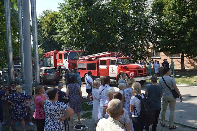 В одній з лікарень Дніпра сталася пожежа