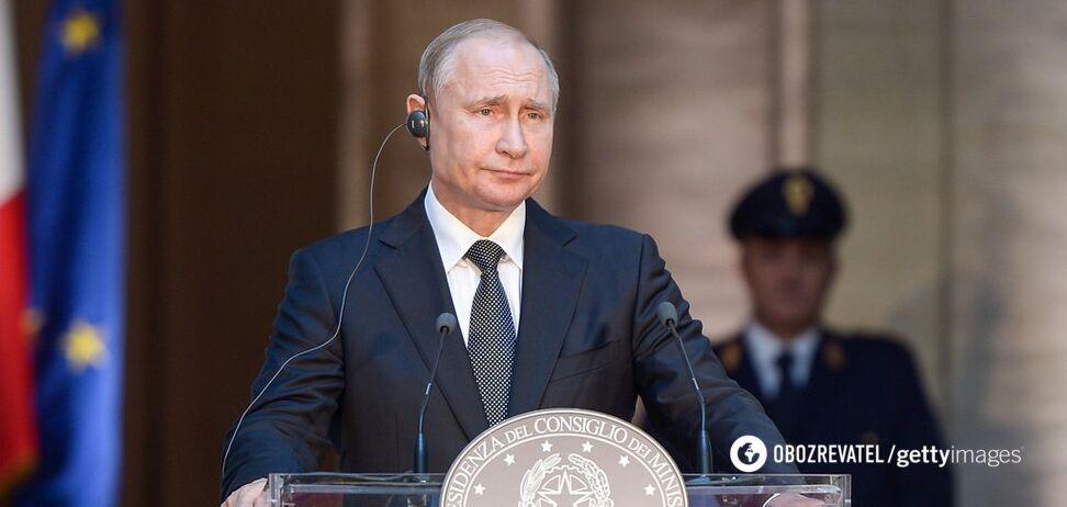 'Я устал. Я ухожу?' Путин сделал заявление о кресле президента