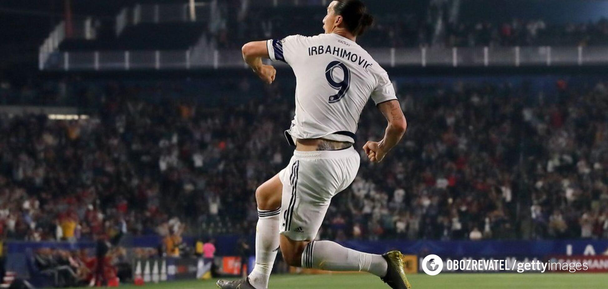 Ібрагімович забив фантастичний гол в США