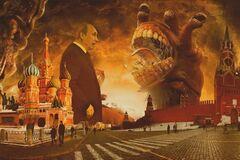 Россия распадается с искрами, шипением и треском