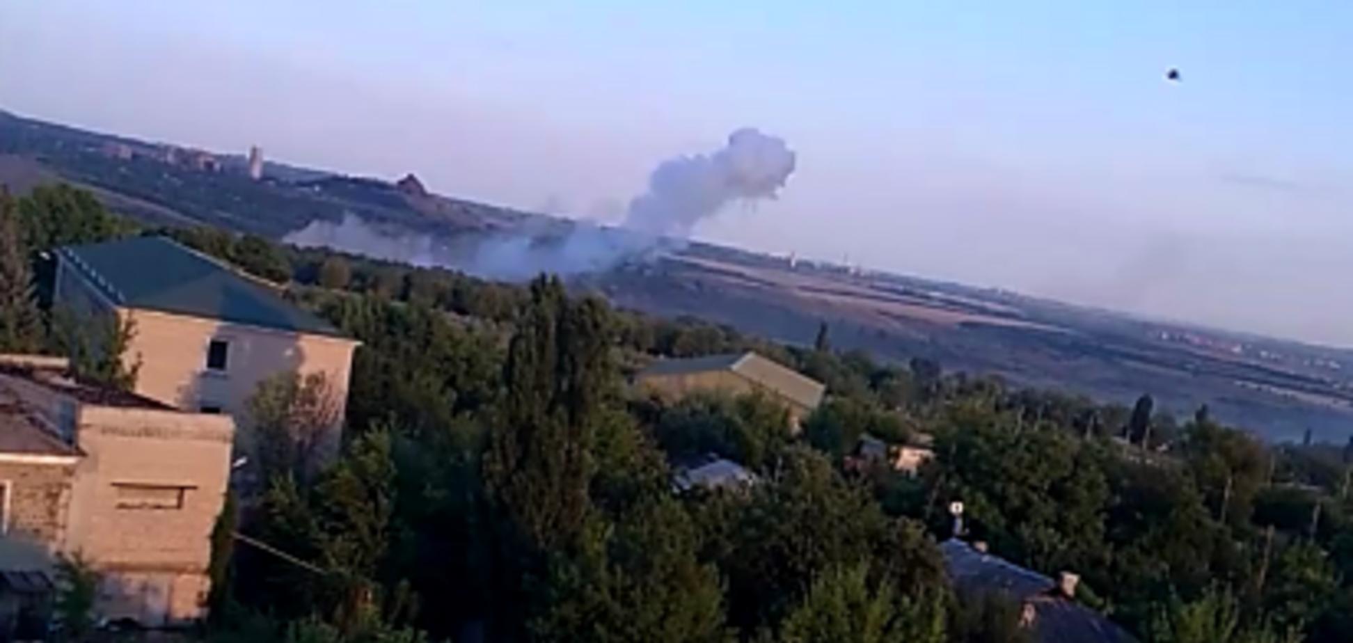 В 'ЛНР' заявили об обстреле Первомайска: есть погибшие и раненные. Видео