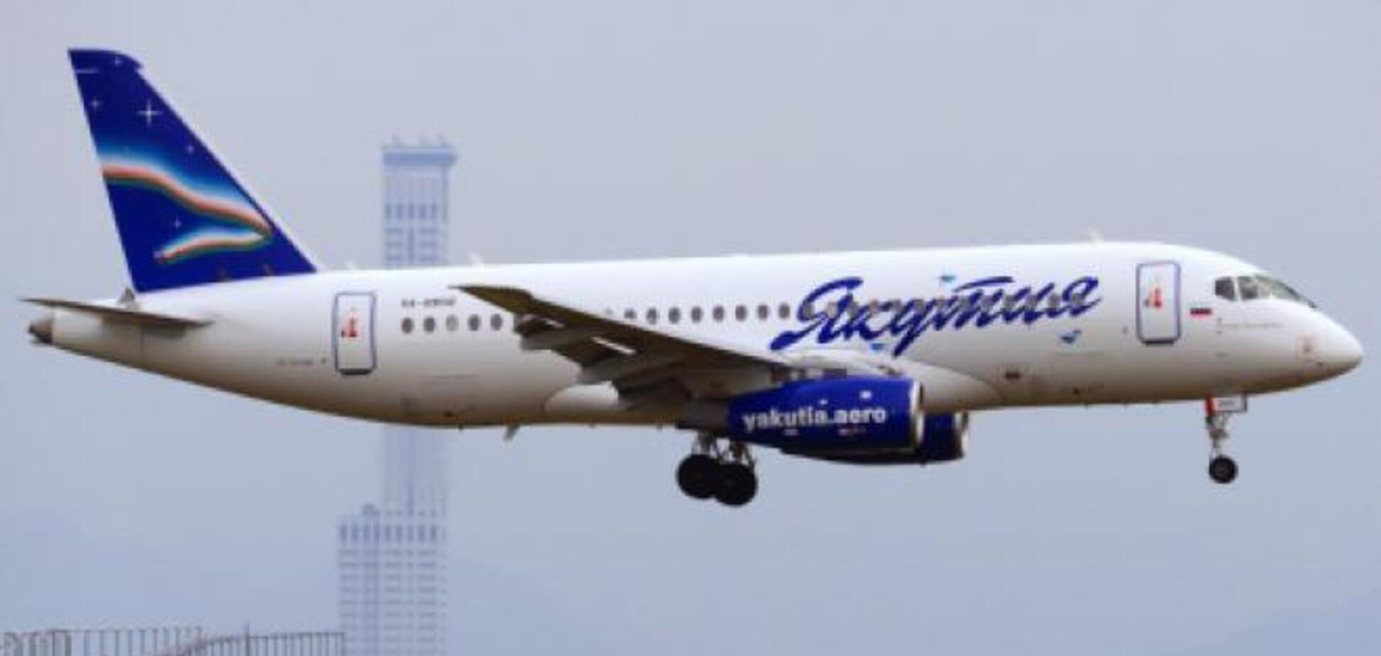 SSJ-100 авіакомпанії 'Якутія'