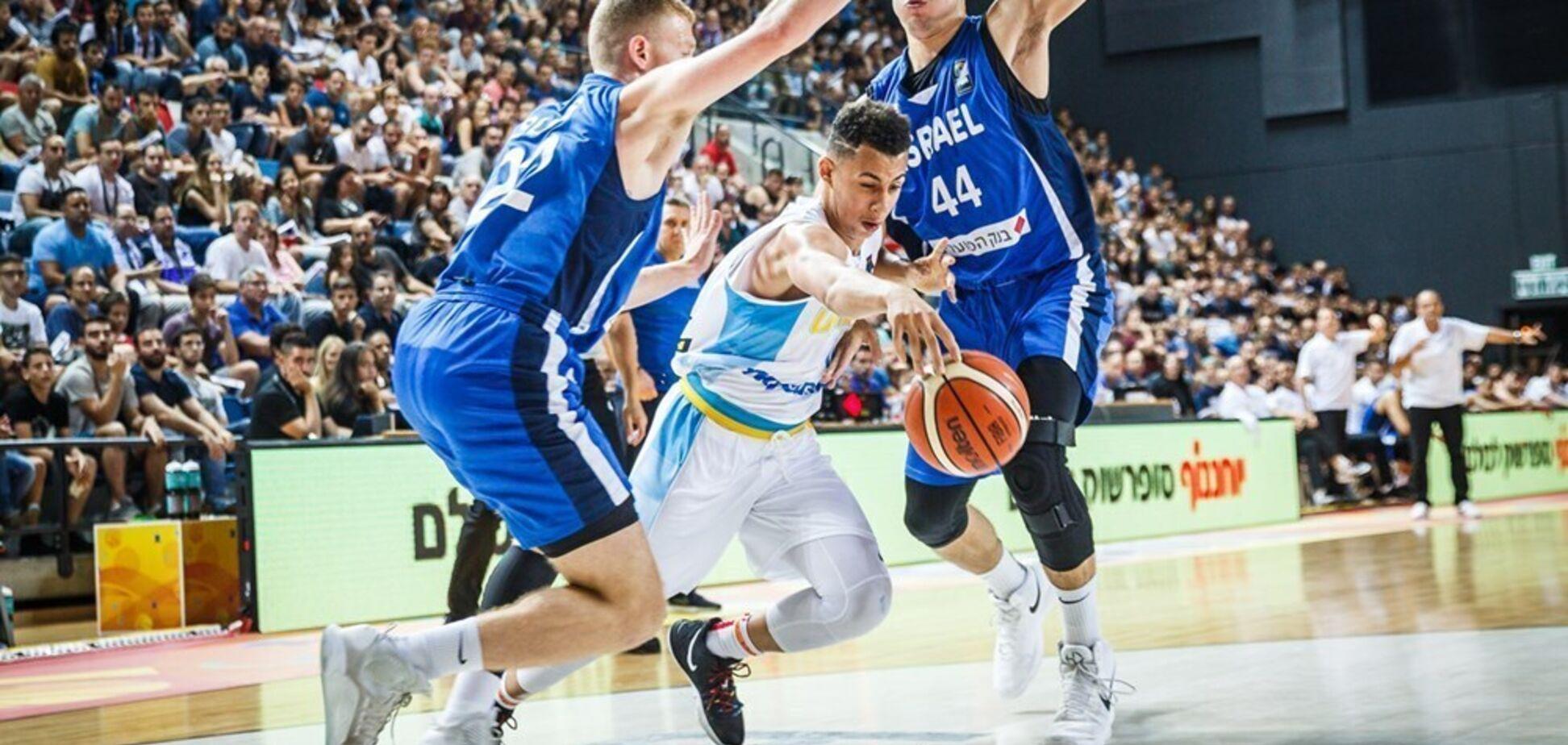 Україна увійшла в топ-10 на Євробаскеті U-20