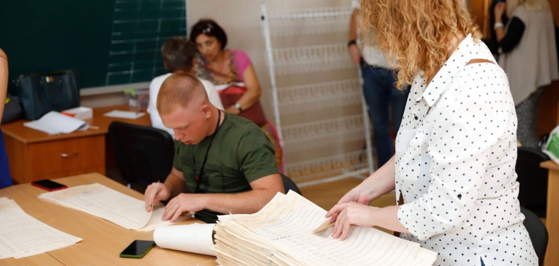 Дільнична комісія в Дніпрі зіпсувала 2000 бюлетенів