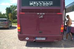 На Харківщину привезли автобуси з 'тітушками': поліція втрутилася