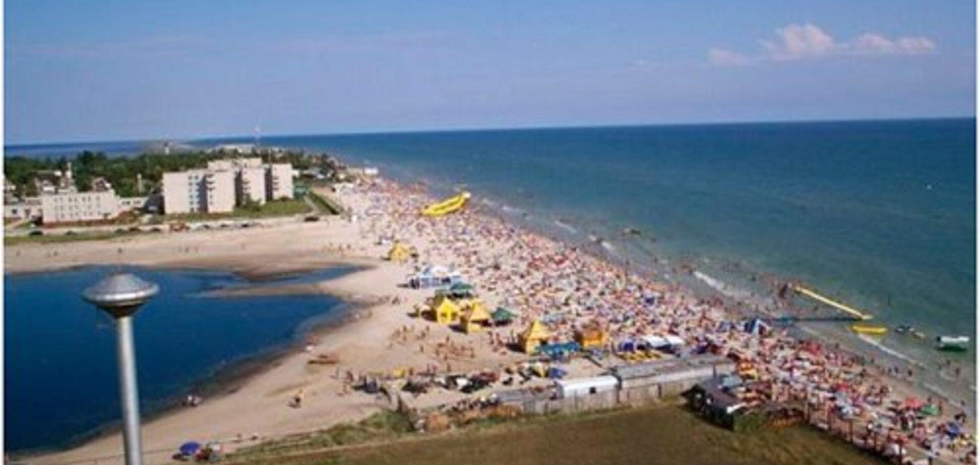 На украинском курорте женщина утонула на глазах у сына