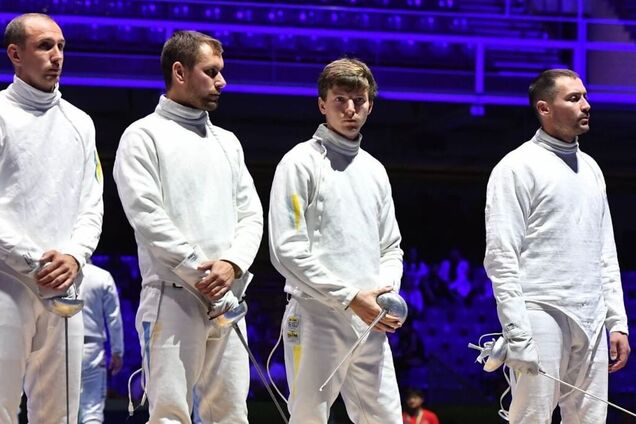 Збірна України з фехтування на шпагах