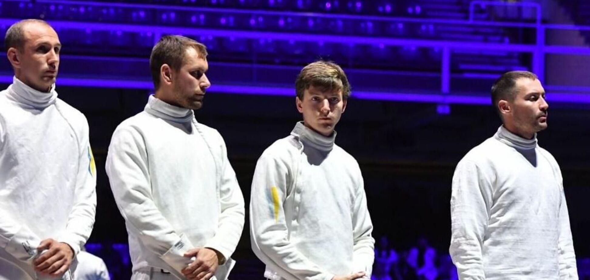 Украинские шпажисты стали вице-чемпионами мира
