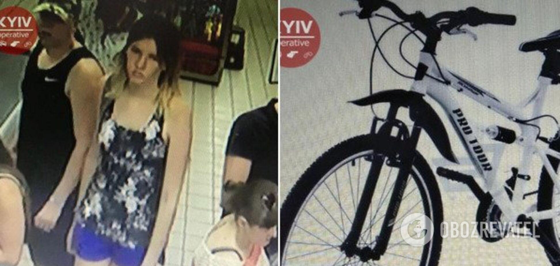 Девушка, которая похитила велосипед