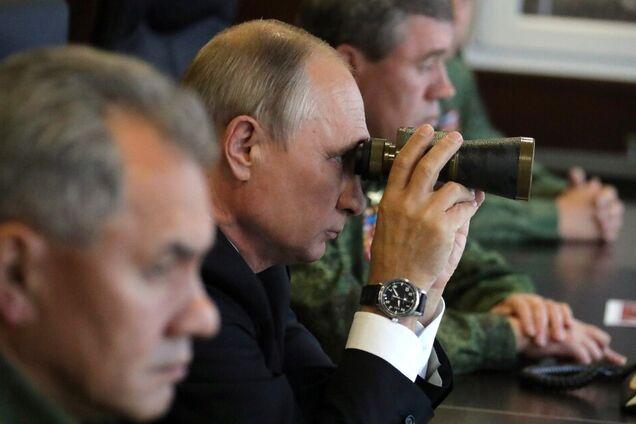"""Владимир Путин, Сергей Шойгу на учениях """"Запад-2017"""""""