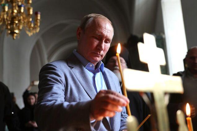 Владимир Путин в Валаамском монастыре