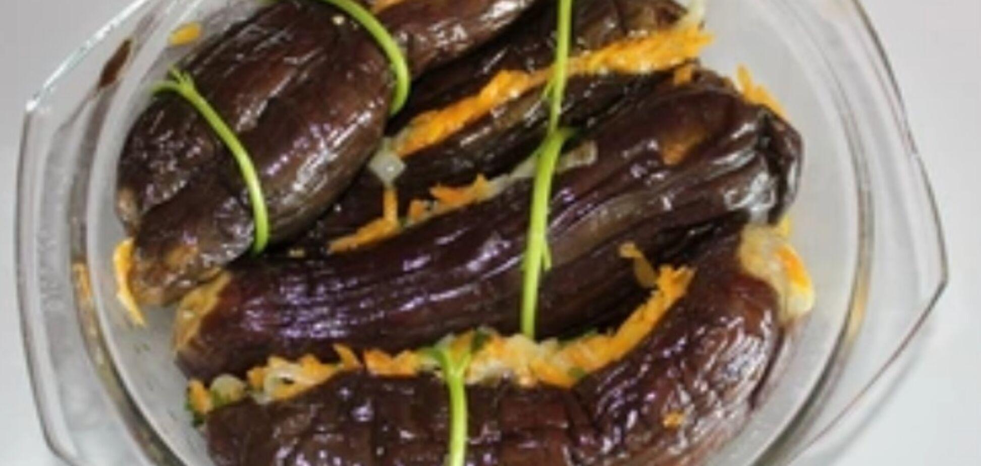 Рецепт очень вкусных квашеных баклажанов на зиму