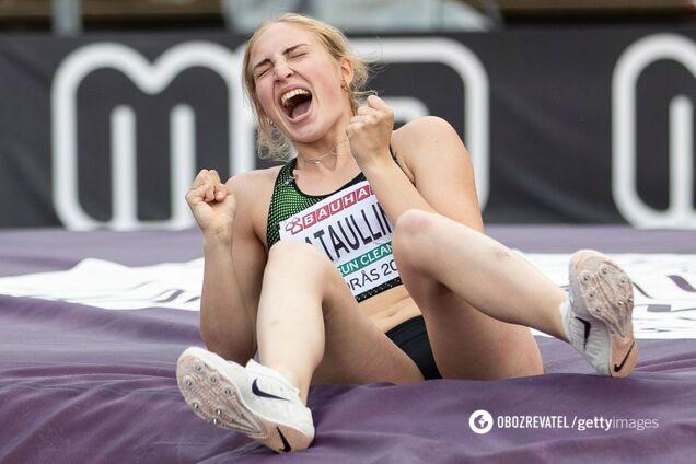 российская легкоатлетка Аксана Гатауллина