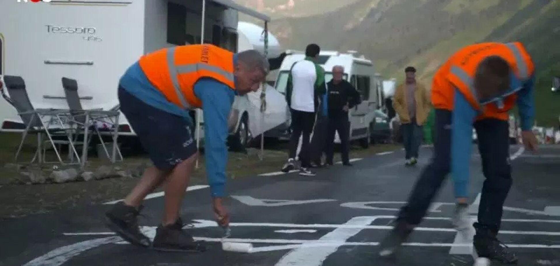 Огромный пенис на 'Тур де Франс' превратили в сову