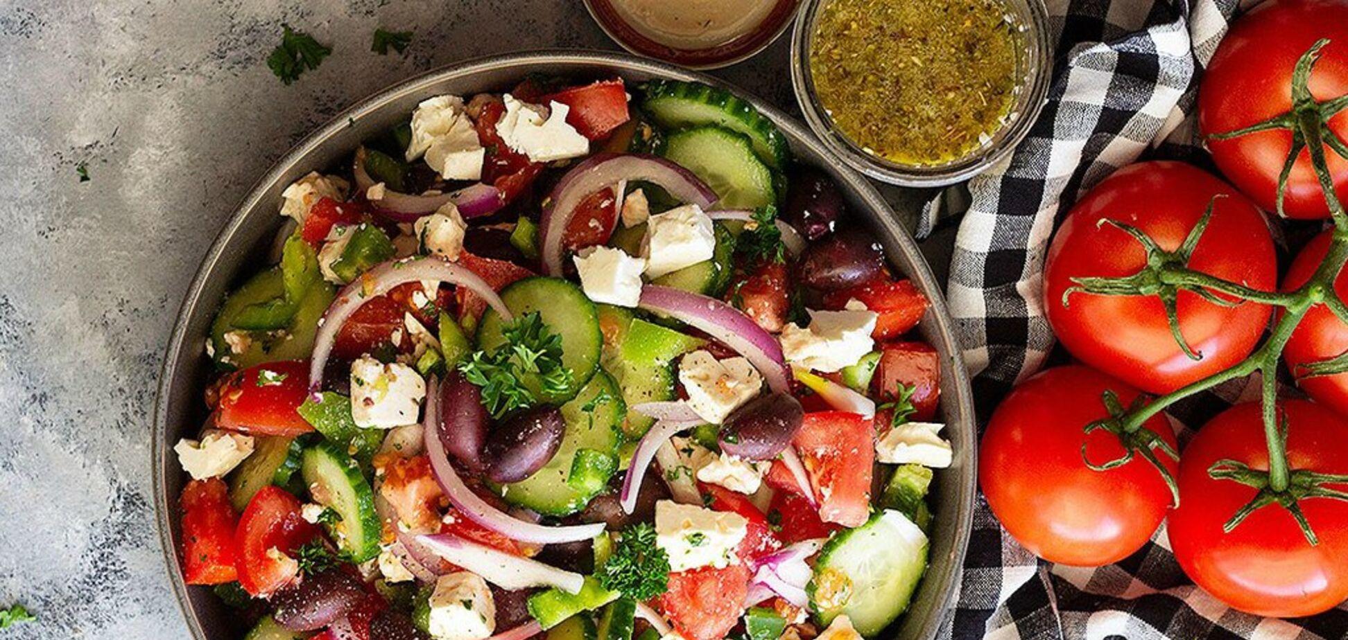 Кращий рецепт грецького салату, від якого всі будуть у захваті
