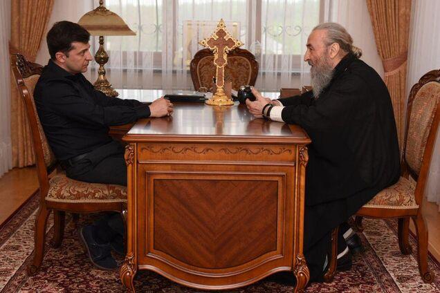 Владимир Зеленский, митрополит Онуфрий